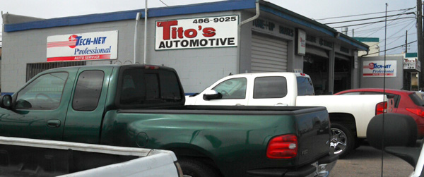 titos automotive repair shop
