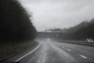 road conditions - rain